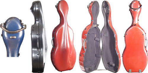 Core Fiber Composite Cello Case
