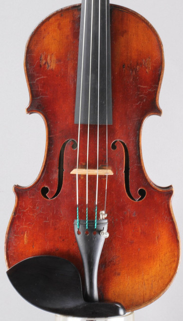 Violin Labeled Carolus Columbus Bruno 1906