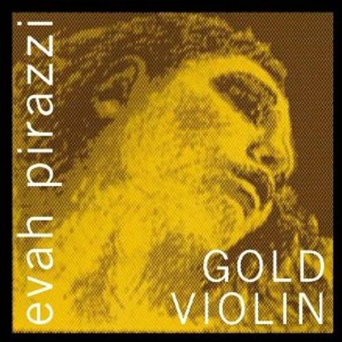 Evah Pirazzi Gold Strings Set - Fold G, Ball-E   4/4
