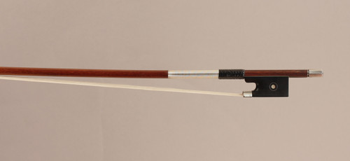 German Silver-Mounted Violin Bow 62.4g