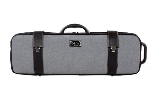 Grey Flannel Hightech Oblong Viola Case 5201GF