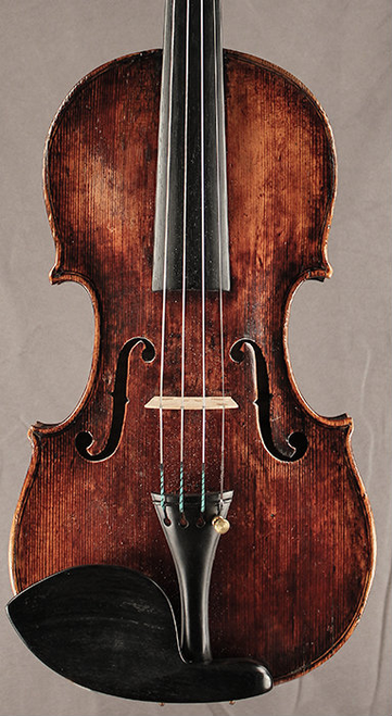 Jacques Boquay German Violin with French label ca. 1736