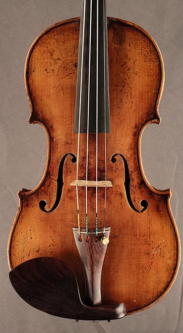 Bohemian, Student Violin circa 1900 front