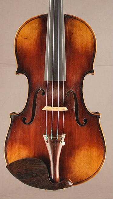 Schoenbach, Germany violin ca. 1920 front