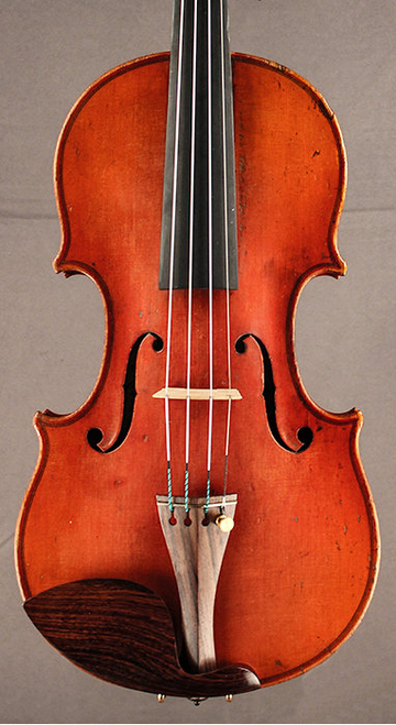 German Violin circa 1920 Front, great condition.