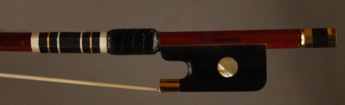 Master Artisan Gold Cello Bow frog