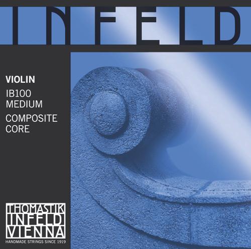 Infeld Blue Violin Strings Set - IB100 - 4/4