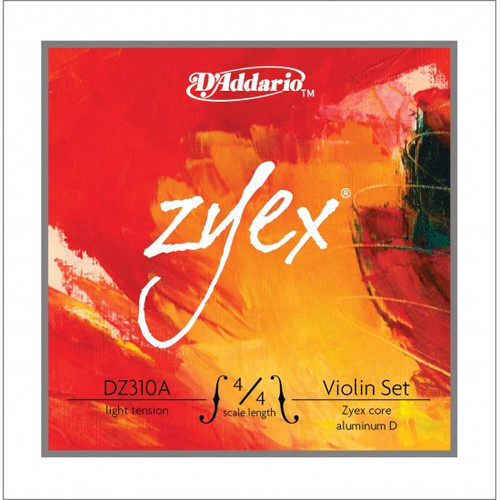 D'Addario Zyex Violin Strings Set