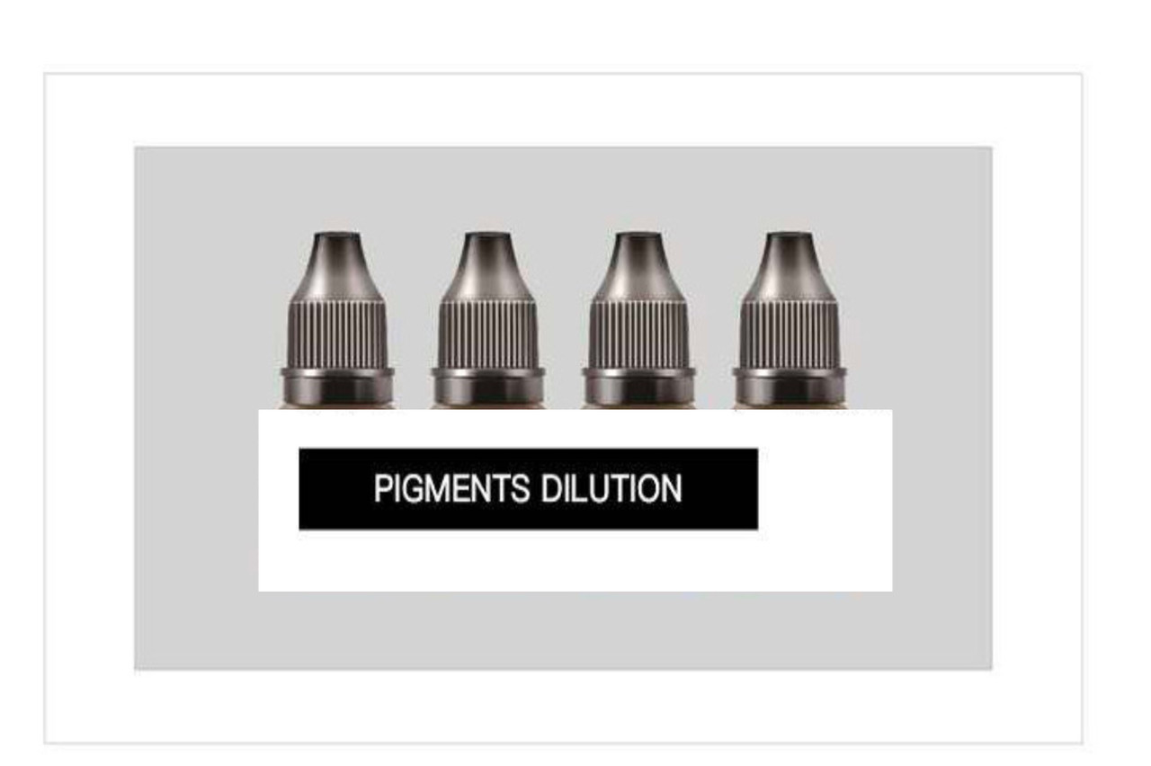 ND pigments dilution PIGMENT DILUTERIN,individual 5ml and 15ml bottles