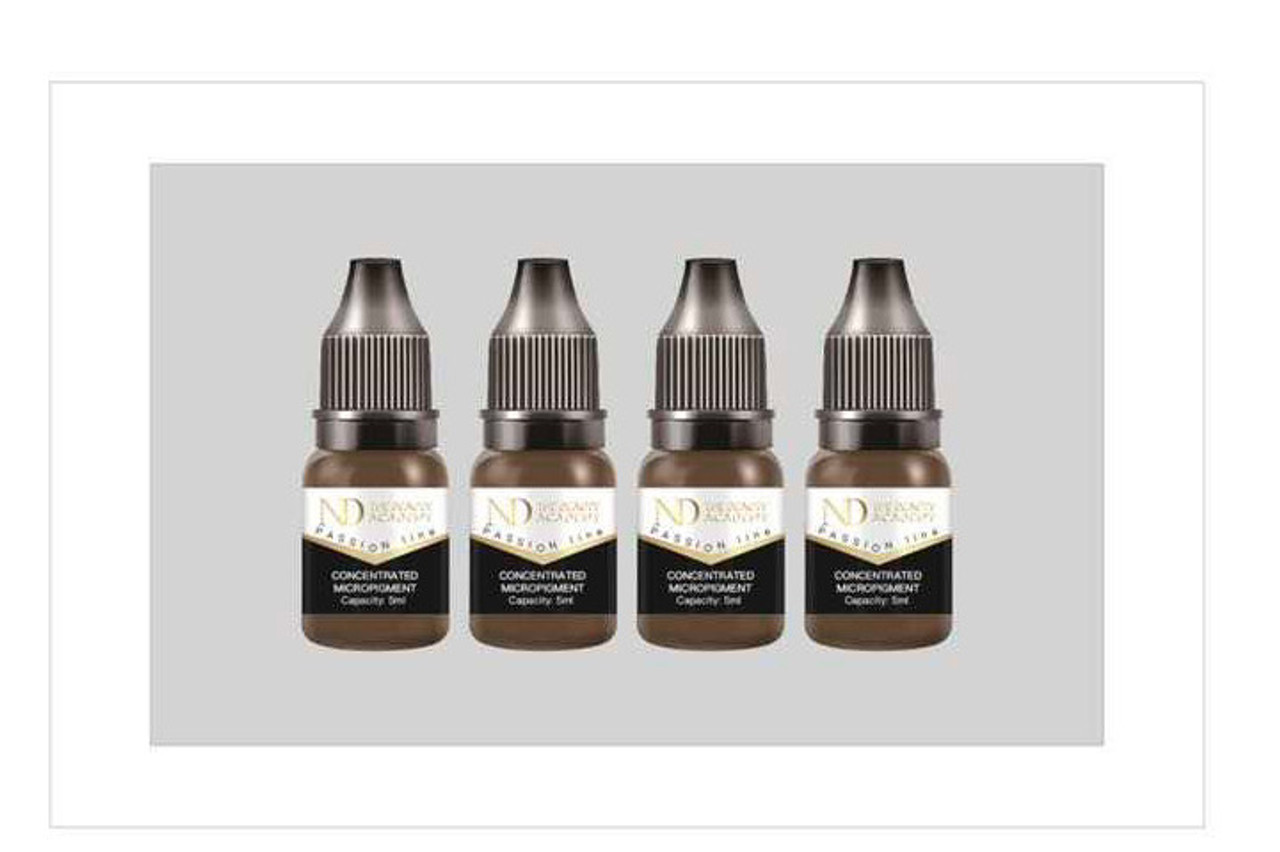4x5ml concentrated micro pigments lip/ eyebrows