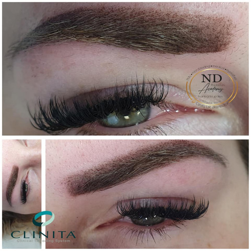 EYEBROWS permanent make-up all METHOD