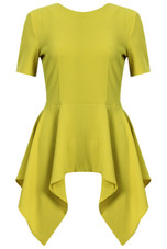 High Low Peplum Tops - 3 Colours (Pack of 4)