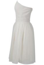 Bandeau Net Flare Dress - 3 Colours
