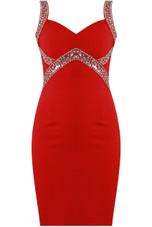 Sequin & Stone Textured Bodycon Dress - 3 Colours