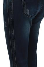 Washed Denim Blue Jeans