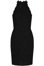 Crochet Back Zip Up Bodycon Dress - 3 Colours
