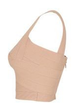 Bandage Ribbed Crop Top - 3 Colours