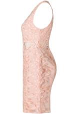 Flower Crochet Netted Bodycon Dress - 3 Colours