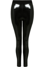 Black Shiny Vinyl Trouser
