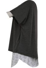 Exclusive Cat Slogan T-Shirt & Shorts Pyjama Set Grey