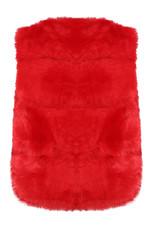 Layered Fur Gilet - 3 Colours