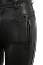 Faux Leather Soft PU Pants