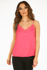 Lace Scallop Cami- 9 Colours