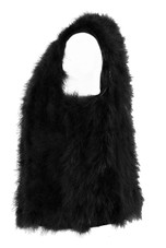 Ostrich Feather Gilet - 4 Colours