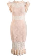 Lace Intricate Pencil Dress - 4 Colours