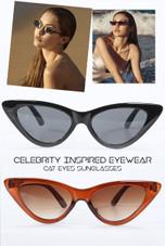 Cat Eyes Sunglasses - 2 Colours