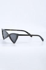 Black Triangle Cat Eyes Sunglasses