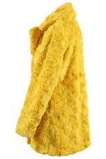 Shaggy Faux Fur Lapels Overcoat - 4 Colours