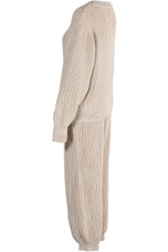 Cable Knit Jumper & Jogger Loungewear - 4 Colours