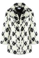 Shaggy Fur Overcoat - 2 Colours