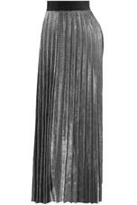 Pleated Elasticated Waist Skirt - 3 Colours