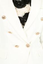 Golden Button Double Breast Blazer - 11 Colours