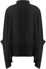 Pleated Hem Oversize Shirt - 3 Colours