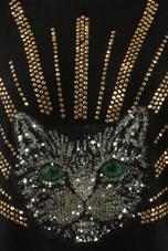 Sequin Cat Face Jumper - 2 Colours
