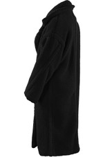 Shaggy Fur Double Button Overcoat - 3 Colours