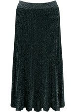 Ribbed Pleated Maxi Skirt - 3 Colours