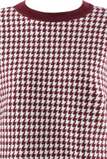 Dogtooth Blouson Jumper - Mixed Colours Pack