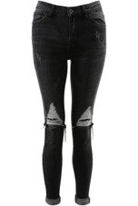 Distressed Knee Skinny Jeans - 3 Colours