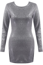 Glittered Mini Dress - 4 Colours