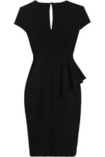 Side Frill Trim Bodycon Dress - 4 Colours