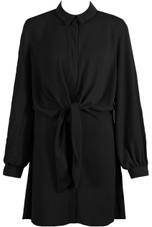 Wrap Tie Up Shirt Dress - 6 Colours