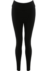 Black Stretchable Pull-On Leggings