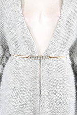 Metal Chain Crystal Buckle Belt - 2 Colours