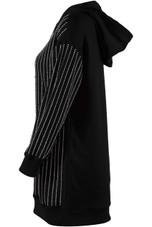 Diamante Oversize Hooded Dress