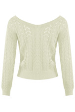 Twist Front Knitted Jumper