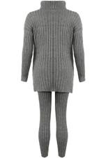 Polo Neck Loungewear Set
